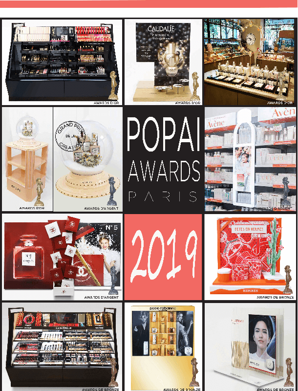 2019 PARIS POPAI AWARDS